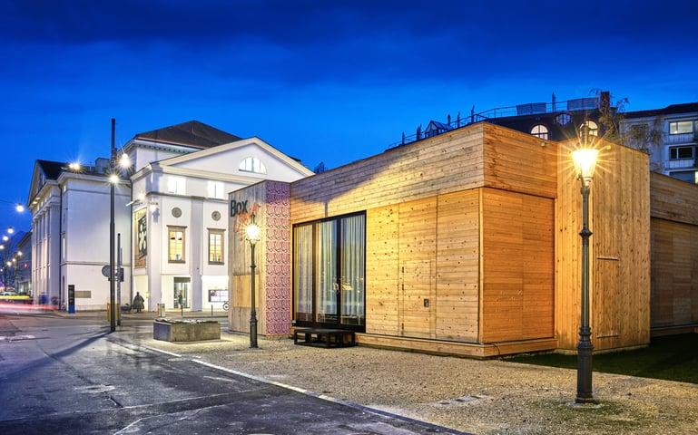 Die Box am Theater Luzern von TGS Architekten