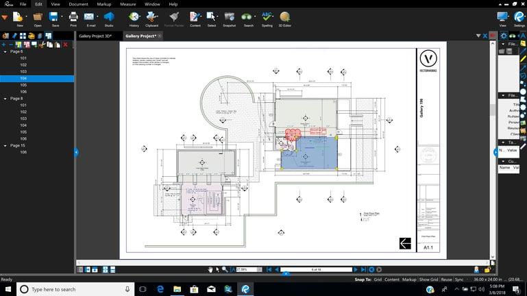 Integration Bluebeam Studio in Vectorworks 1