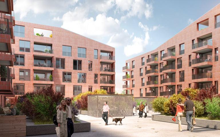 Wohnungen am Ebisquare in Ebikon von TGS Architekten